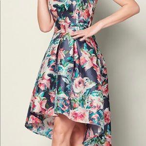 High Low Floral Dress